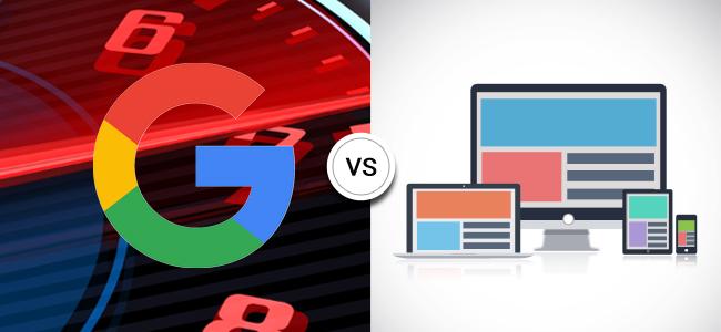 AMP vs. Responsive Web Page